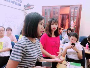 Thực hành giao tiếp với giáo viên Trung Quốc