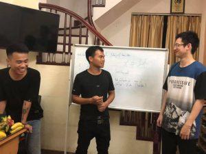 Thực hành giao tiếp với giáo viên Trung Quốc trung tâm ngoại ngữ Gia Hân
