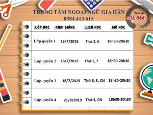 khóa học tiếng Trung ở Hà Nội