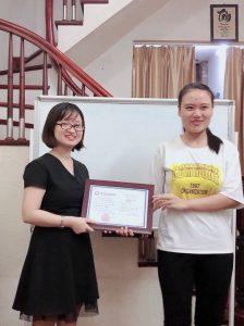 Vinh danh học viên có thành tích tốt